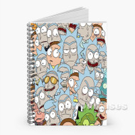 Rick and Morty Outnumbered Custom Personalized Spiral Notebook Cover