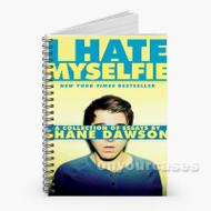 Shane Dawson Custom Personalized Spiral Notebook Cover