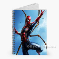 Spider Man Custom Personalized Spiral Notebook Cover