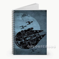 Star Wars Custom Personalized Spiral Notebook Cover