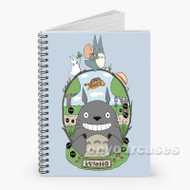 totoro world Custom Personalized Spiral Notebook Cover