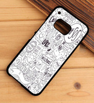 5 second summer look at all those penguins HTC One X M7 M8 M9 Case