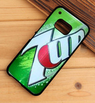7 Up Soft Drink HTC One X M7 M8 M9 Case
