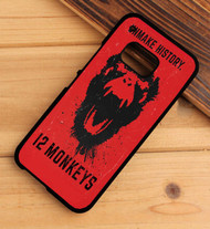 12 monkeys syfy HTC One X M7 M8 M9 Case