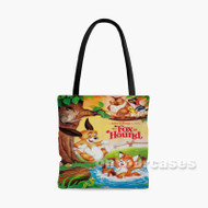 Disney The Fox and the Hound Custom Personalized Tote Bag Polyester with Small Medium Large Size