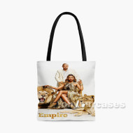 Empire With Lion Custom Personalized Tote Bag Polyester with Small Medium Large Size
