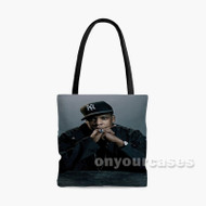Jay Z Custom Personalized Tote Bag Polyester with Small Medium Large Size