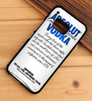 Absolut Vodka HTC One X M7 M8 M9 Case