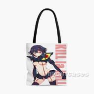 Kill La Kill Sexy Ryuko Custom Personalized Tote Bag Polyester with Small Medium Large Size