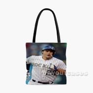 Nolan Arenado Colorado Rockies BAseball Player Custom Personalized Tote Bag Polyester with Small Medium Large Size