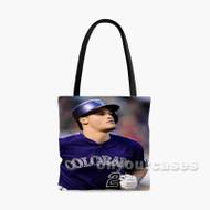 Nolan Arenado Colorado Rockies Custom Personalized Tote Bag Polyester with Small Medium Large Size