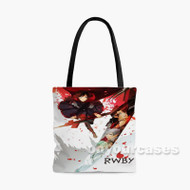 Rwby Ruby Rose Custom Personalized Tote Bag Polyester with Small Medium Large Size