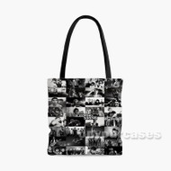 Sleeping With Sirens Custom Personalized Tote Bag Polyester with Small Medium Large Size