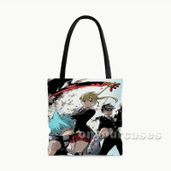 Soul Eater Custom Personalized Tote Bag Polyester with Small Medium Large Size