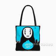 Spirited Away Studio Ghibli Custom Personalized Tote Bag Polyester with Small Medium Large Size