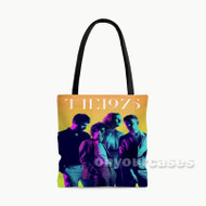 THe 1975 Custom Personalized Tote Bag Polyester with Small Medium Large Size