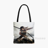 Tomb Raider Definitive Edition Games Custom Personalized Tote Bag Polyester with Small Medium Large Size
