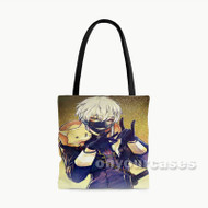 Touken Ranbu Custom Personalized Tote Bag Polyester with Small Medium Large Size