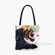 Touken Ranbu Naki Custom Personalized Tote Bag Polyester with Small Medium Large Size
