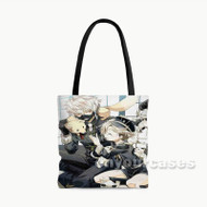 Touken Ranbu Nakigitsune Custom Personalized Tote Bag Polyester with Small Medium Large Size