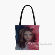Tove Lo Rainbow Smoke Custom Personalized Tote Bag Polyester with Small Medium Large Size
