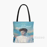 Troye Sivan Blue Neighbourhood Custom Personalized Tote Bag Polyester with Small Medium Large Size