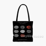 Twenty One Pilots Blurryface Custom Personalized Tote Bag Polyester with Small Medium Large Size