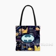 Batman Custom Personalized Tote Bag Polyester with Small Medium Large Size