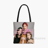 Blackpink Custom Personalized Tote Bag Polyester with Small Medium Large Size
