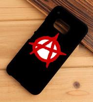 Anarchy symbol HTC One X M7 M8 M9 Case