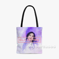 Jisoo blackpink Custom Personalized Tote Bag Polyester with Small Medium Large Size