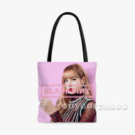 lisa blackpink Custom Personalized Tote Bag Polyester with Small Medium Large Size