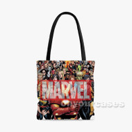 marvel Custom Personalized Tote Bag Polyester with Small Medium Large Size