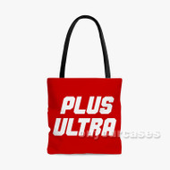 My Hero Academia Plus Ultra Custom Personalized Tote Bag Polyester with Small Medium Large Size
