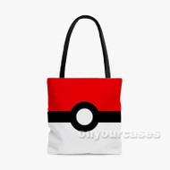 Pokedex Custom Personalized Tote Bag Polyester with Small Medium Large Size
