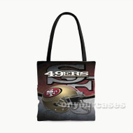 San Francisco 49ers Custom Personalized Tote Bag Polyester with Small Medium Large Size