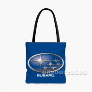 subaru Custom Personalized Tote Bag Polyester with Small Medium Large Size