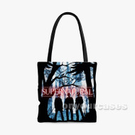 supernatural Custom Personalized Tote Bag Polyester with Small Medium Large Size