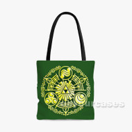 The Legend of Zelda Hylian Custom Personalized Tote Bag Polyester with Small Medium Large Size