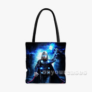 thor avengers endgame Custom Personalized Tote Bag Polyester with Small Medium Large Size
