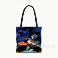 Undertale Custom Personalized Tote Bag Polyester with Small Medium Large Size