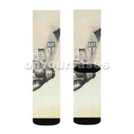 Beastie Boys Plane Custom Sublimation Printed Socks Polyester Acrylic Nylon Spandex with Small Medium Large Size