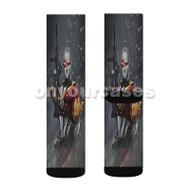 Deadshot DC Comics Custom Sublimation Printed Socks Polyester Acrylic Nylon Spandex with Small Medium Large Size