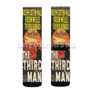 The Third Man Custom Sublimation Printed Socks Polyester Acrylic Nylon Spandex with Small Medium Large Size