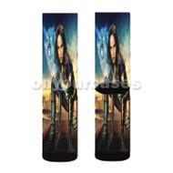 Vixen Arrow DC Comics Custom Sublimation Printed Socks Polyester Acrylic Nylon Spandex with Small Medium Large Size