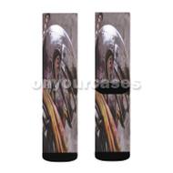 Berserk Anime Guts Custom Sublimation Printed Socks Polyester Acrylic Nylon Spandex with Small Medium Large Size