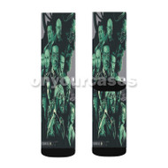 Breaking Bad Characters Custom Sublimation Printed Socks Polyester Acrylic Nylon Spandex with Small Medium Large Size