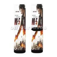 Mi 5 Movie Custom Sublimation Printed Socks Polyester Acrylic Nylon Spandex with Small Medium Large Size