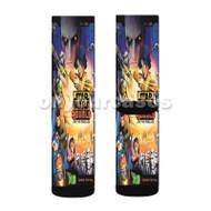 Star Wars Rebels Custom Sublimation Printed Socks Polyester Acrylic Nylon Spandex with Small Medium Large Size
