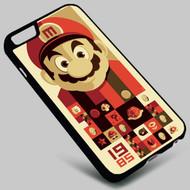 Mario bross on your case iphone 4 4s 5 5s 5c 6 6plus 7 Samsung Galaxy s3 s4 s5 s6 s7 HTC Case